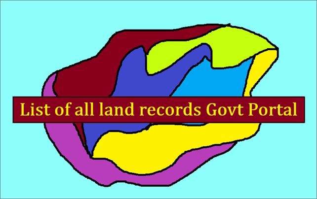 Khasra Khatauni Lands Record Portals