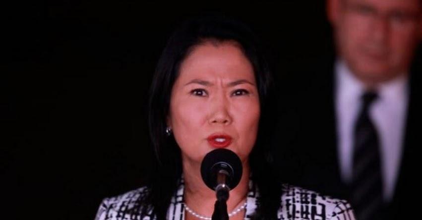 Keiko Fujimori recibió dinero de Odebrecht para campaña, informa la prensa O Globo de Brasil