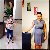 Maternity Fashion With Non-Maternity Clothes | Raising Karma