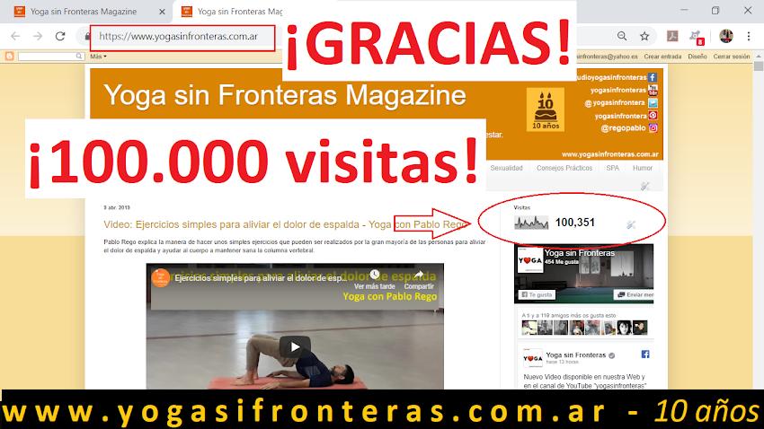 ¡100.000 Visitantes!