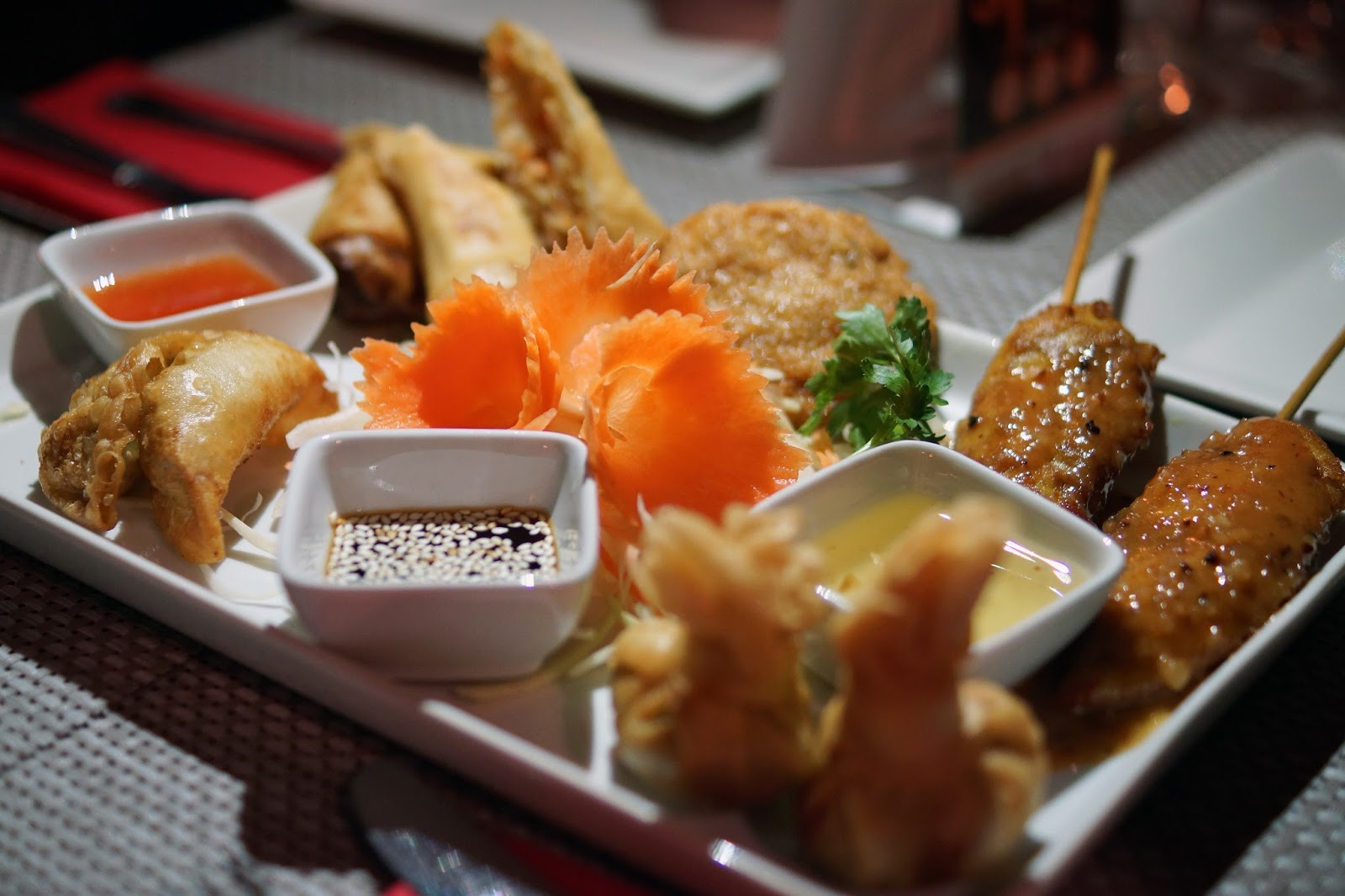 Hello Freckles Sunderland Restaurant Week Safari Supper Royale Thai Nebloggers
