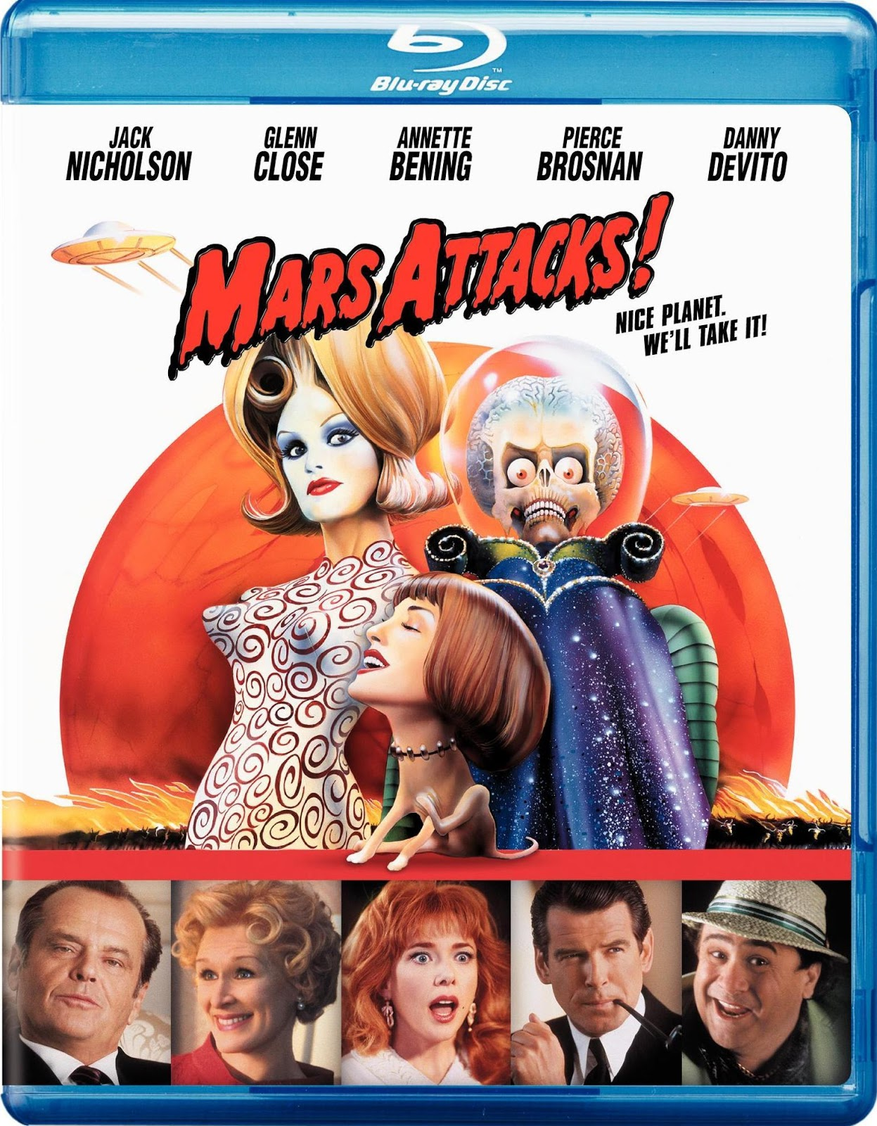 Mars Attacks! [1996] [BD25] [Español]