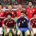 مصر مع غانا وأوغندا والكونغو فى المجموعة الخامسة بتصفيات المونديال