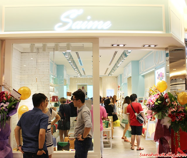 S'aime Taiwan First Flagship Store in Malaysia at Sunway Pyramid, S'aime Taiwan, First Flagship Store, S'aime Malaysia, Sunway Pyramid, Saime HOLLY, JOAN, AMELIE, KATE C, Monica, drawstring bucket bag, leather backpack