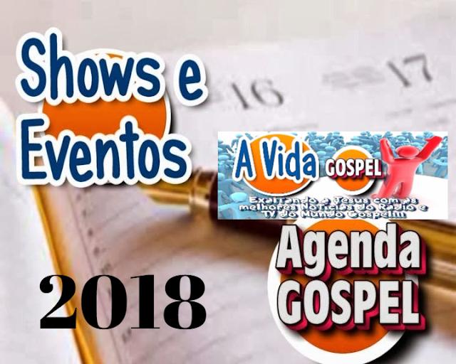 Agenda de Eventos Gospel 2017/2018/2019 [Atualizado] Shows Gospel, Congressos Evangélicos, Conferências, Festas nas Igrejas.