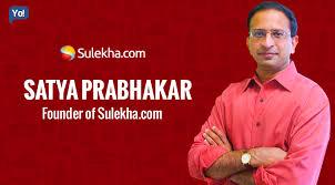 Satya Prabhakar founder of sulekha