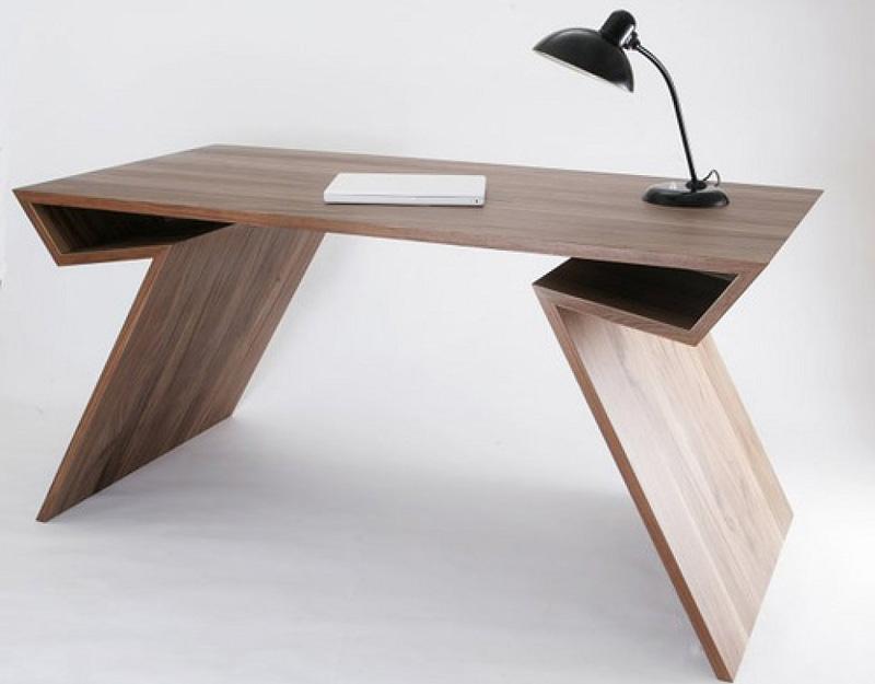 10 escritorios de dise o para cambiar el look a tu estudio - Mesas de dormitorio ...