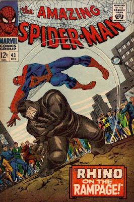 Amazing Spider-Man #43, the Rhino