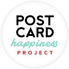 Postcard Happiness Project - an infowrap