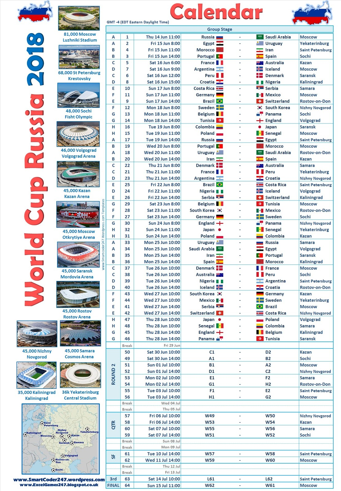 world cup 2018 game times in australia pdf