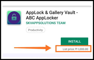 AppLock - Gallery Vault - ABC app locker paid app free download