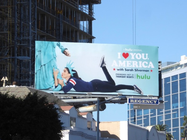 I Love You America billboard