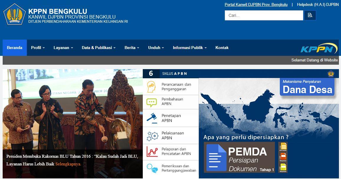 Alamat Lengkap Kantor KPPN Di Bengkulu