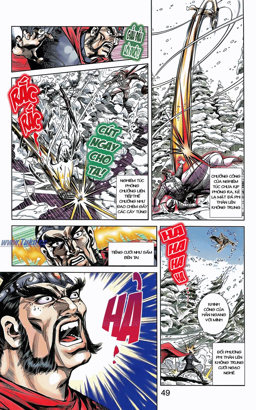 Tần Vương Doanh Chính chapter 7 trang 8