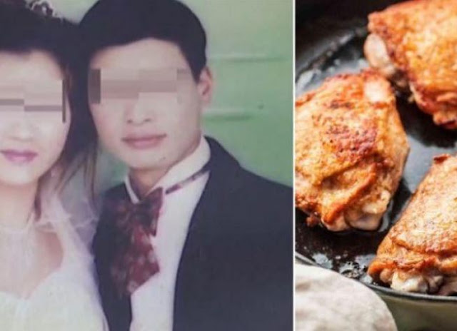 Lupa Belikan KFC, Wanita Tiongkok Ini Nekat Tebas Kepala Suami
