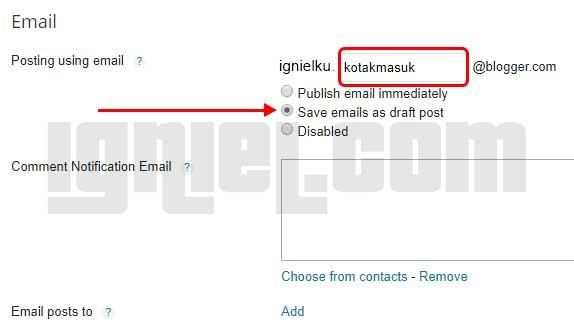 Cara Build Akun Facebook Dengan Email Blogspot