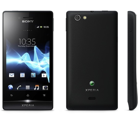 Sony Xperia Miro Android Smartphone — Price Singapore