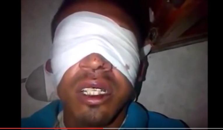 Video CDG Interroga a sicario de los Zetas Tampico Tamaulipas