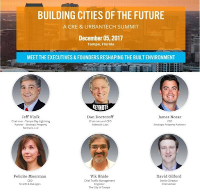 City of Tampa CRE and UrbanTech Executives and Founders