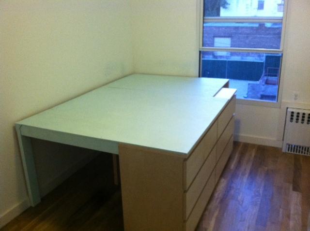 malm captains full size bed hack livemodern your best modern home. Black Bedroom Furniture Sets. Home Design Ideas