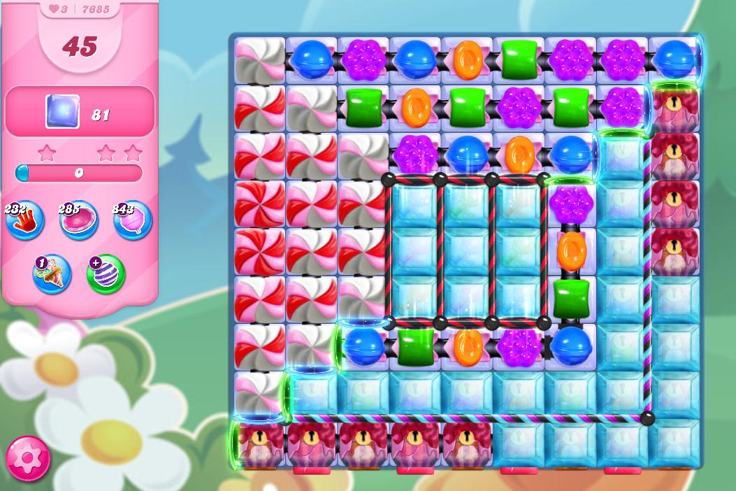 Candy Crush Saga level 7685