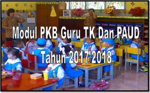 Modul PKB Guru TK Dan PAUD Tahun 2017/2018