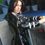 Andrea Rincon, Selena Spice Galeria 5 : Vestido De Latex Negro Foto 118
