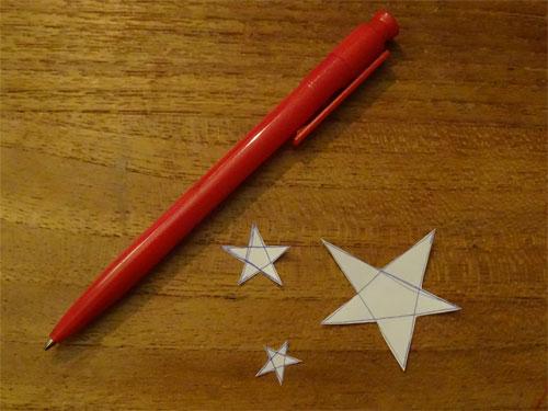 sterren schetsen