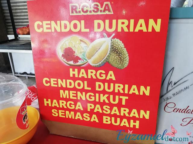 Cendol Durian Viral Seksyen 24 Shah Alam