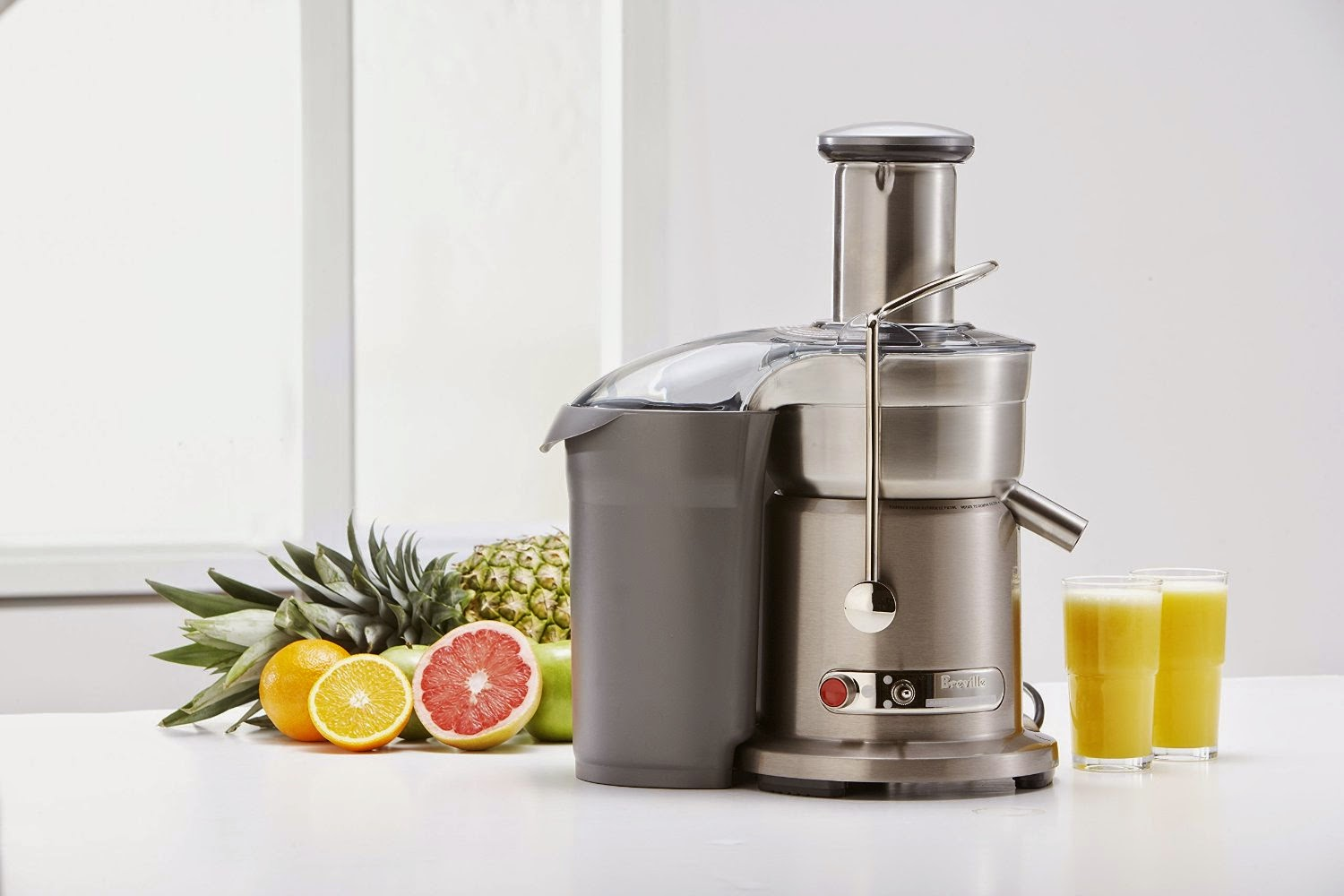 Breville 800JEXL Juice Fountain Elite 1000-Watt Juice Extractor, picture, image, review features and specifications