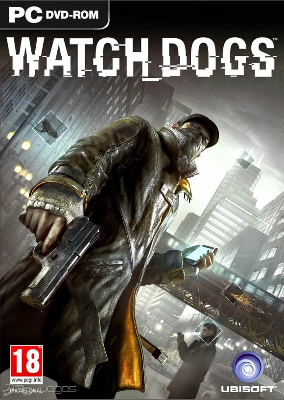 Cover Caratula Watch Dogs Full PC ESPAÑOL Descargar