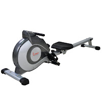 Sunny Health & Fitness SF-RW5515 Magnetic Rowing Machine, with 8 levels of adjustable resistance