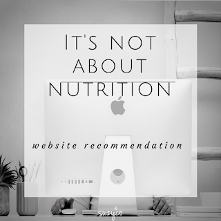 it's not about nutrition website recommendation