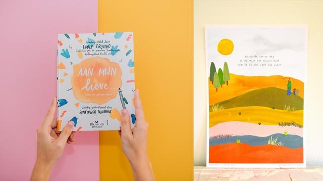 Illustraties van vormgever Nanda Broekhuizen Sunflower Shine