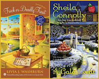 Trick or Deadly Treat by Livia J. Washburn; A Gala Event by Sheila Connolly