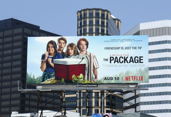 The Package movie billboard