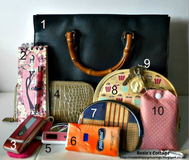 Blogtember Day 15 whats in your bag
