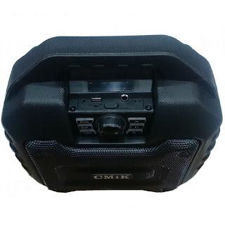 altoparlante multimediale con luci mk-b20 cmik