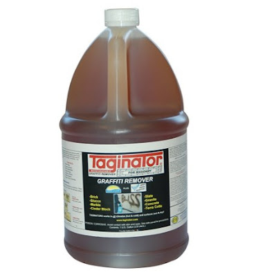 Graffiti Removal Products - Taginator Graffiti Remover 1 Gallon. For Stone and Masonry