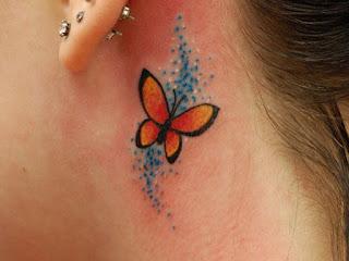 hình xăm bướm nhỏ đẹp