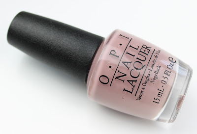 OPI Nail Lacquer in Tickle My France-y review nail polish