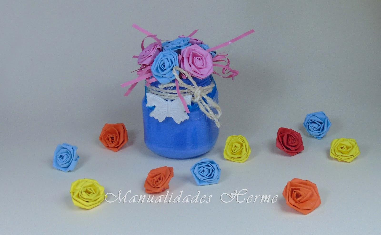Manualidades herme hacer flores de papel - Papel partitura para manualidades ...
