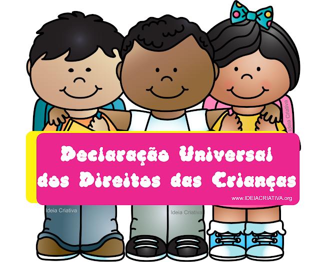 Resumo e Vídeo Sobre a Declaração Universal dos Direitos das Crianças