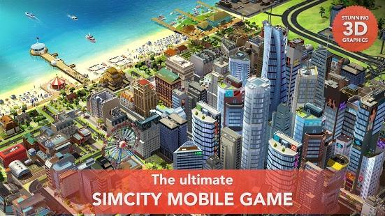 SimCity BuildIt Mod Apk [Unlimted Gold & Dollars] v1 20 5