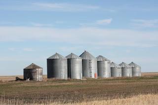 More silos.