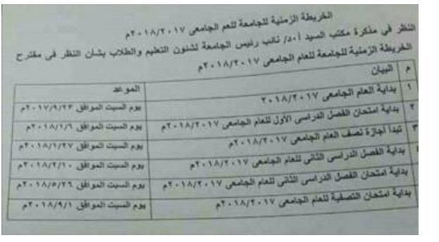 جدول مواعيد إمتحانات الكيات الازهرية 2018 مواعيد امتحانات جامعة الازهر