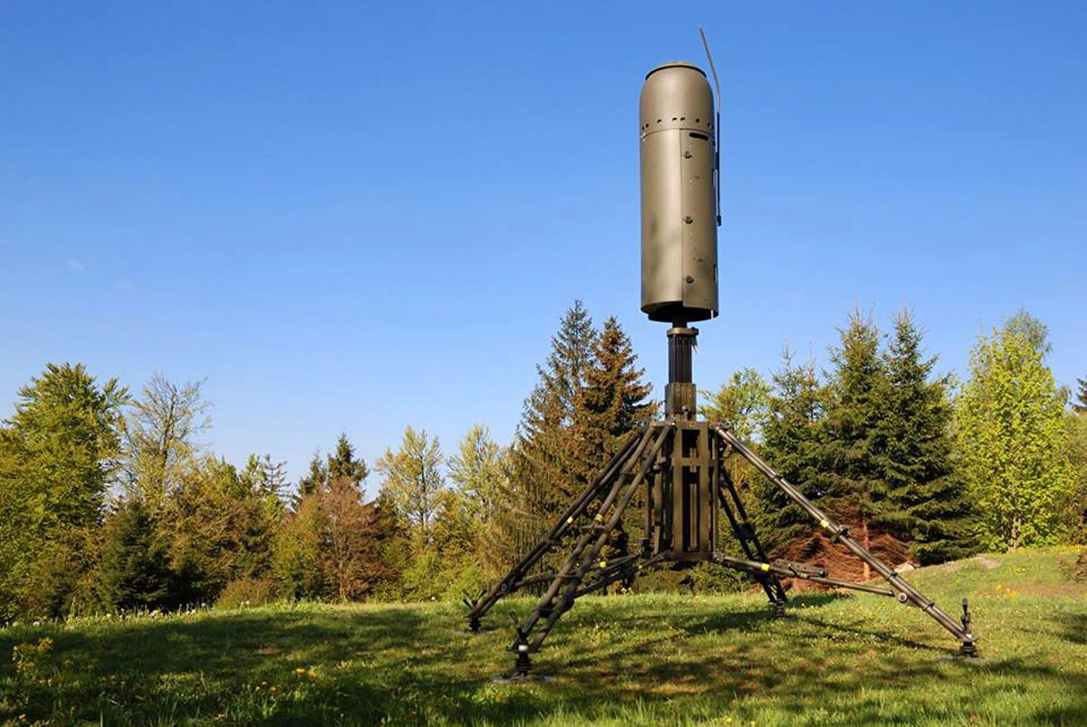 Radar Pasif Vera-NG anti stealth