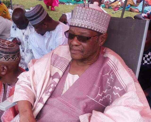 Sulley Muntari's father dies at 62