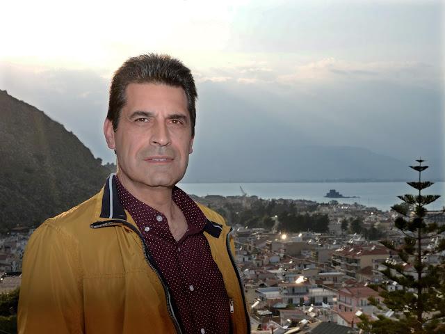 Ο Γιώργος Χατζόπουλος υποψήφιος στον συνδυασμό του Δημήτρη Κωστούρου ''ΝΑΥΠΛΙΟ.ΕΠΟΜΕΝΗ ΜΕΡΑ''