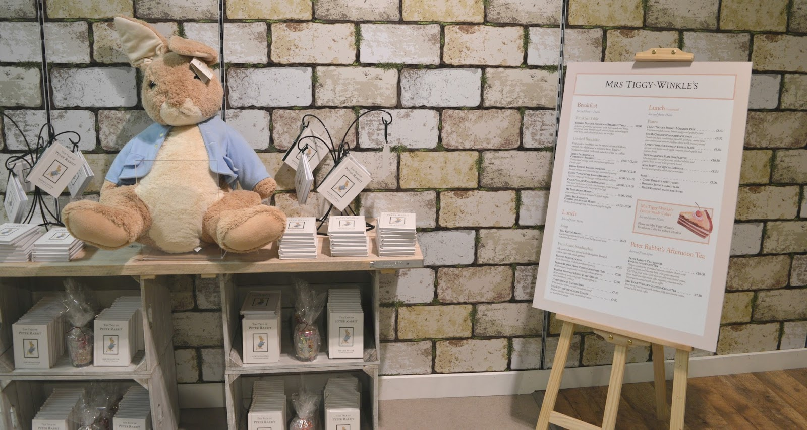 Mrs Tiggy-Winkles Beatrix Potter Pop Up Cafe in Fenwick, Newcastle - A Review